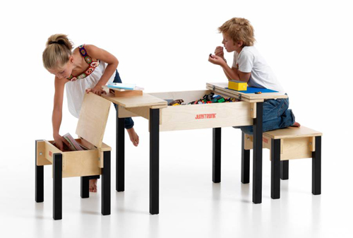 Play furniture and toy storage